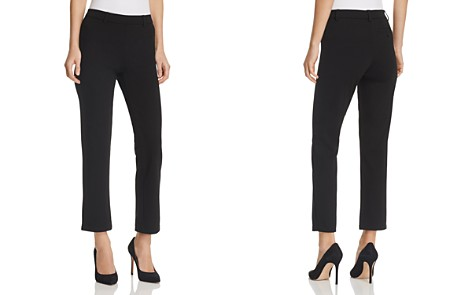 HUE Cropped Trouser Leggings - Bloomingdale's_2