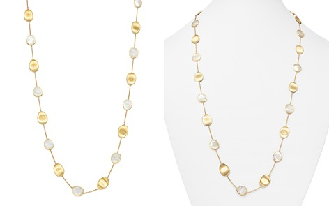"Marco Bicego 18K Yellow Gold Lunaria Mother-of-Pearl Long Necklace, 36"" - Bloomingdale's_2"