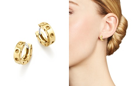 Roberto Coin 18K Yellow Gold Symphony Pois Moi Huggie Hoop Earrings - Bloomingdale's_2