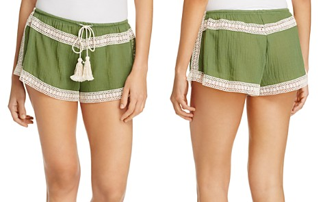 Eberjey Summer of Love Pippa Swim Cover-Up Shorts - Bloomingdale's_2