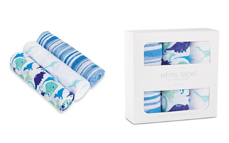 Aden and Anais White Label Infant Boys' Jurassic Swaddles, 3 Pack - Bloomingdale's_2