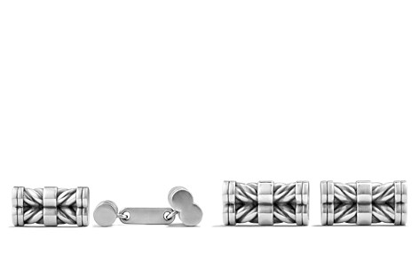 David Yurman Chevron Cufflinks - Bloomingdale's_2