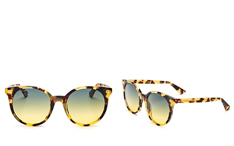 Gucci Pantos Round Sunglasses, 52mm - Bloomingdale's_2