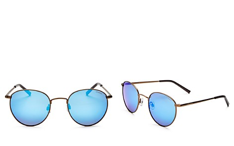 Polaroid Women's Polarized Mirrored Round Sunglasses, 51mm - Bloomingdale's_2