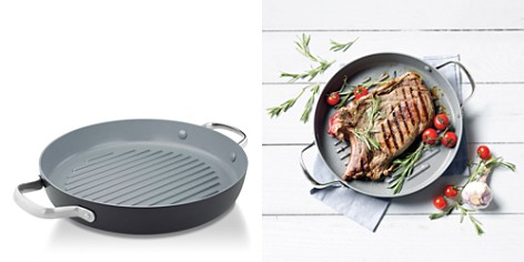 "GreenPan Valencia Pro 11"" Ceramic Nonstick Grill Pan - Bloomingdale's Registry_2"