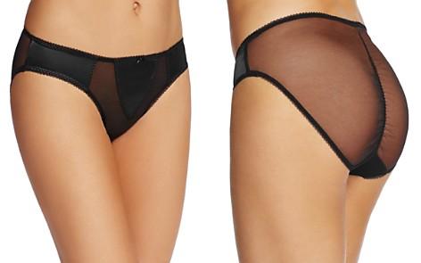 Dita Von Teese Sheer Witchery Satin Bikini - Bloomingdale's_2
