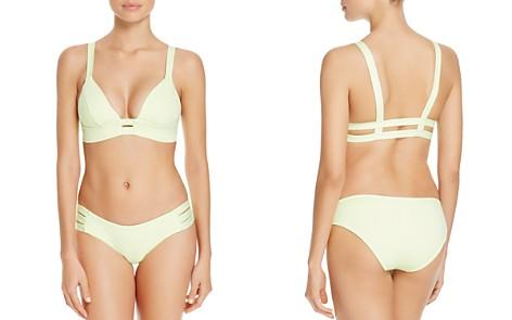 Vitamin A Neutra Bralette Bikini Top & Emelia Triple Strap Bikini Bottom - Bloomingdale's_2