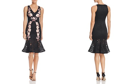 Avery G Floral Embroidered Lace Midi Dress - Bloomingdale's_2