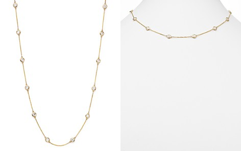 Diamond Station Necklace in 14K Yellow Gold, 2.60 ct. t.w. - 100% Exclusive - Bloomingdale's_2