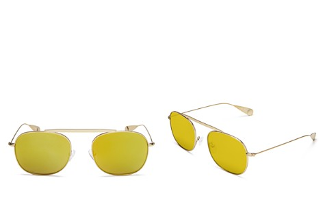 Lyndon Leone James Mirrored Aviator Sunglasses, 56mm - 100% Exclusive - Bloomingdale's_2