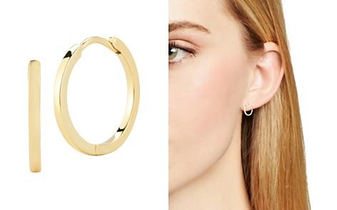 Mateo 14k Yellow Gold Huggie Hoop Earrings Bloomingdale S 2