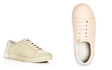THEY New York Two Tone Lace Up Sneakers - Bloomingdale's_2