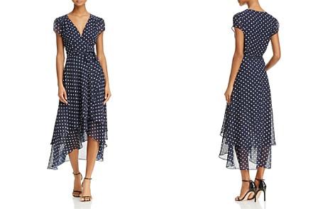 Betsey Johnson Polka Dot Wrap Dress - Bloomingdale's_2