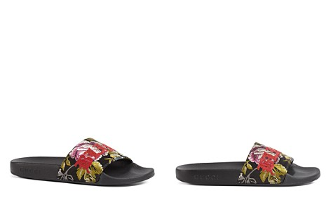 Gucci Women's Pool Slide Sandals - Bloomingdale's_2