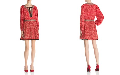 The Kooples Sunrise Embellished Silk Dress - Bloomingdale's_2
