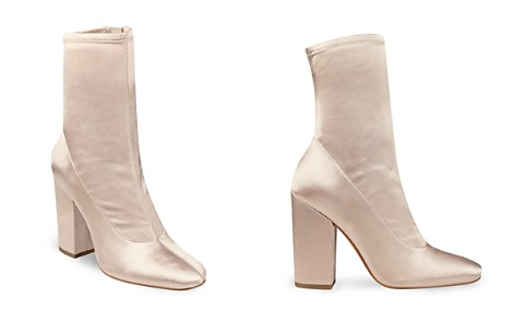 KENDALL and KYLIE Hailey Satin Block Heel Booties - Bloomingdale's_2