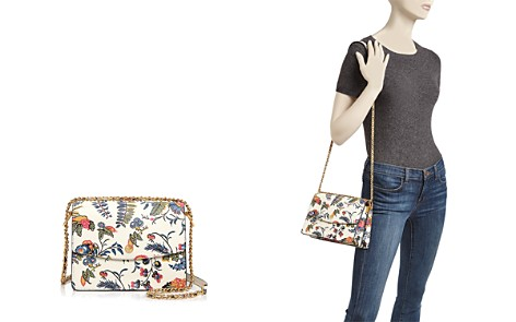 Tory Burch Parker Convertible Floral Leather Shoulder Bag - Bloomingdale's_2
