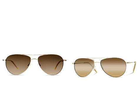 Oliver Peoples Benedict Aviator Sunglasses, 59mm - Bloomingdale's_2