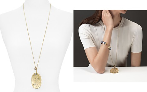 "Alexis Bittar Distressed Disk Pendant Necklace, 31"" - 100% Exclusive - Bloomingdale's_2"