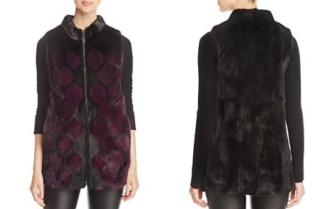 Maximilian Furs Mink Fur Vest - 100% Exclusive - Bloomingdale's_2