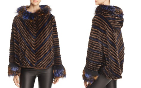 Maximilian Furs Mink Fur Chevron Jacket - 100% Exclusive - Bloomingdale's_2