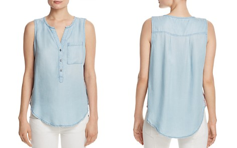 Billy T Chambray Henley Tank - Bloomingdale's_2