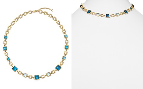 """London Blue and Swiss Blue Topaz Geometric Necklace in 14K Yellow Gold, 16.5"""" - 100% Exclusive - Bloomingdale's_2"""