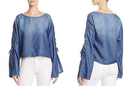 Bella Dahl Lace Sleeve Top - 100% Exclusive - Bloomingdale's_2