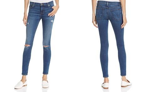 Hudson Nico Distressed Skinny Jeans in Umbrage - 100% Exclusive - Bloomingdale's_2