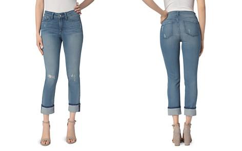 NYDJ Marnie Wide Cuff Boyfriend Jeans in Paloma Rip - Bloomingdale's_2