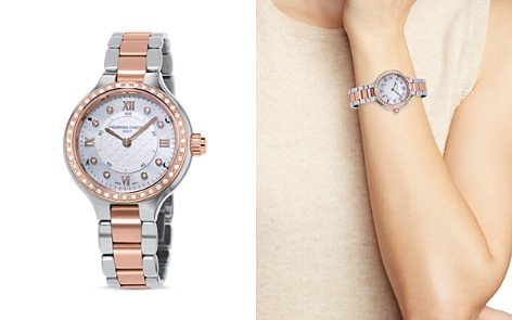 Frederique Constant Two Tone Horological Smartwatch with Diamonds, 34mm - Bloomingdale's_2