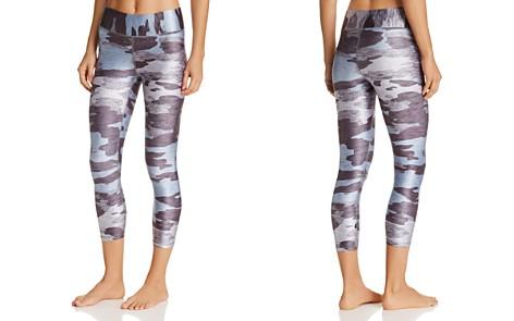 Terez Heathered Camo Print Capri Leggings - Bloomingdale's_2