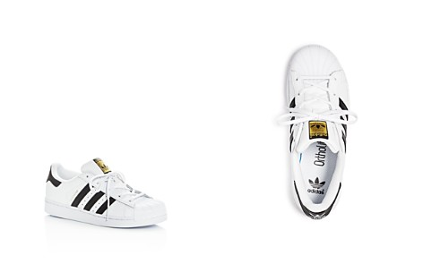 Adidas Unisex Superstar Lace Up Sneakers - Toddler, Little Kid - Bloomingdale's_2
