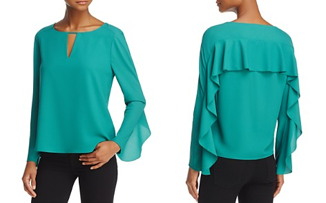 Cooper & Ella Selma Ruffled Top - Bloomingdale's_2