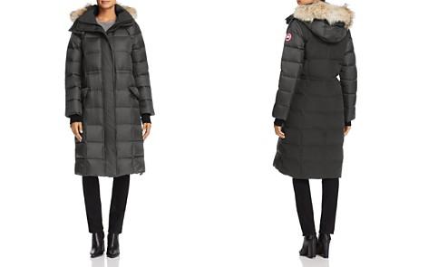 Canada Goose Lunenberg Fur Trim Long Down Coat - Bloomingdale's_2