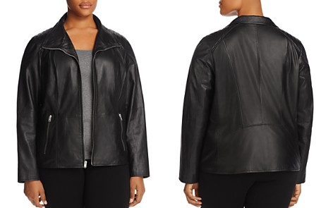 Marc New York Plus Fabiana Leather Jacket - Bloomingdale's_2