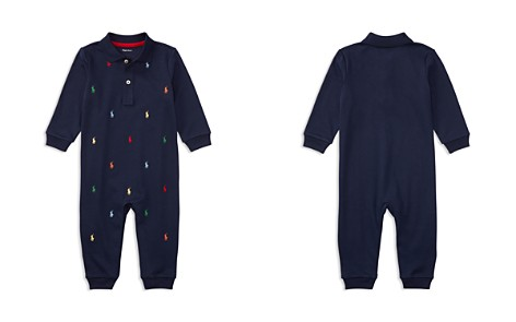 Ralph Lauren Boys' Signature Embroidery Coverall - Baby - Bloomingdale's_2