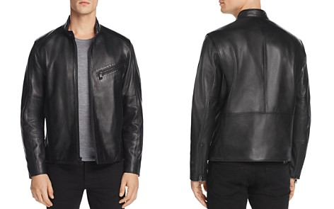 Andrew Marc Gibson Leather Moto Jacket - Bloomingdale's_2