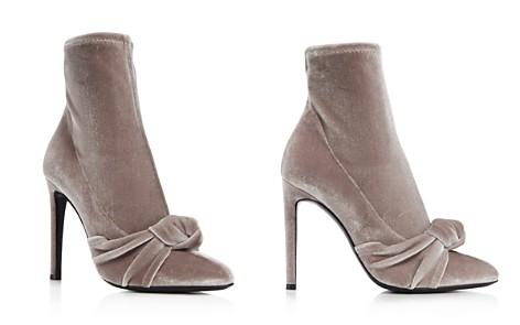 Giuseppe Zanotti Bimba Suede High-Heel Sock Booties - Bloomingdale's_2