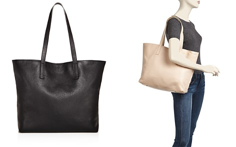 AQUA Pebbled Leather Tote - 100% Exclusive - Bloomingdale's_2