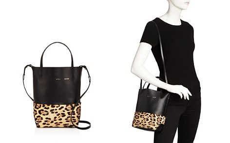 Alice.D Husky Small Leather and Calf Hair Tote - Bloomingdale's_2