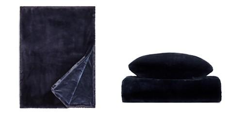 Hudson Park Jewel Faux Fur Throw - 100% Exclusive - Bloomingdale's_2