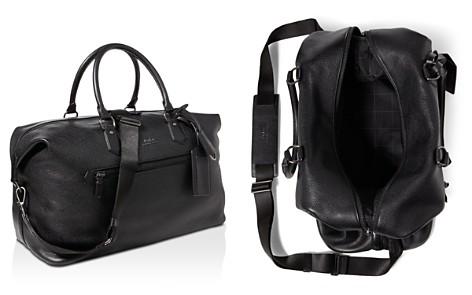 Polo Ralph Lauren Pebbled-Leather Duffel Bag - Bloomingdale's_2