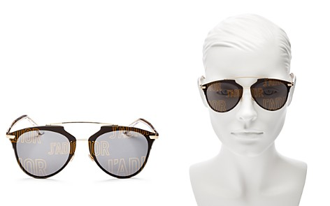 Dior Reflected Prism Mirrored Sunglasses, 63mm - Bloomingdale's_2