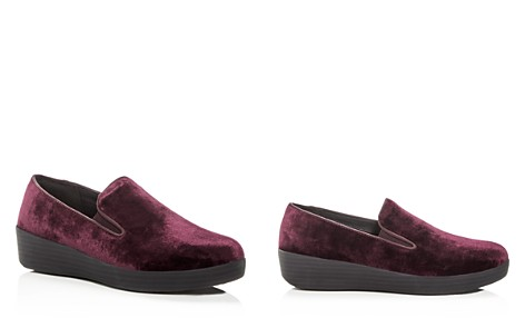 FitFlop Women's Superskate Velvet Sneaker Loafers - Bloomingdale's_2