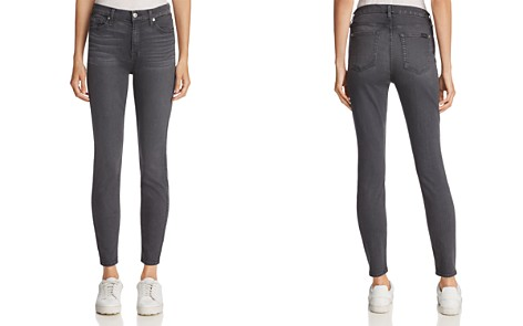 7 For All Mankind b(air) Ankle Skinny Jeans in b(air) Smoke - Bloomingdale's_2