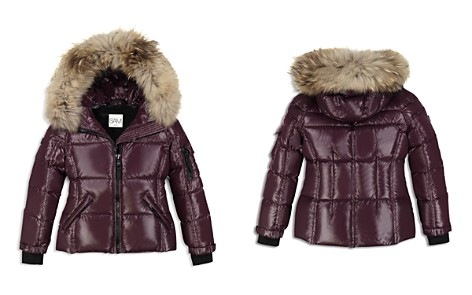 SAM. Girls' Blake Fur-Trimmed Down Jacket - Big Kid - Bloomingdale's_2