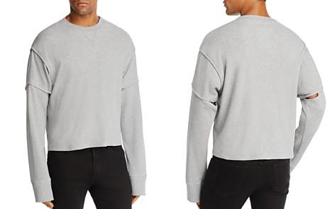 Helmut Lang Military Cocoon Thermal Crewneck Long Sleeve Shirt - Bloomingdale's_2