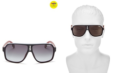 Carrera Men's Polarized Shield Sunglasses, 65mm - 100% Exclusive - Bloomingdale's_2