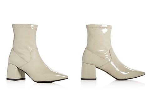 SENSO Women's Simone Patent Leather Flared Block Heel Booties - Bloomingdale's_2